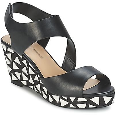 Moony Mood  EPALINE  women's Sandals in black