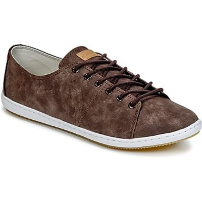 Lafeyt  BRAUWG PU  men's Shoes (Trainers) in brown