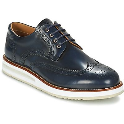 Barleycorn  AIR BROGUE  men's Casual Shoes in blue