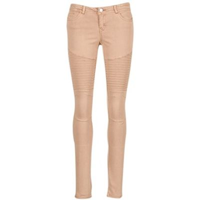 Noisy May  EVE  women's Trousers in pink
