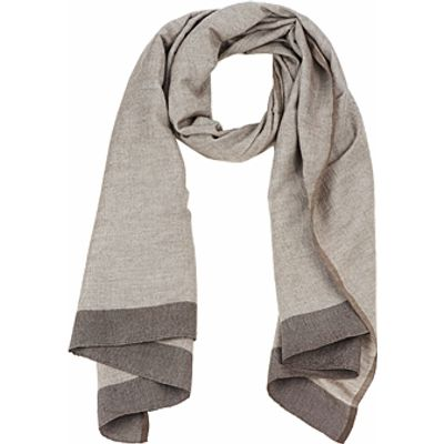 Antik Batik  ZOE  women's Scarf in brown