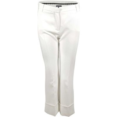 Denny Rose  73DR12007 Trousers Women Bianco  women's Trousers in white