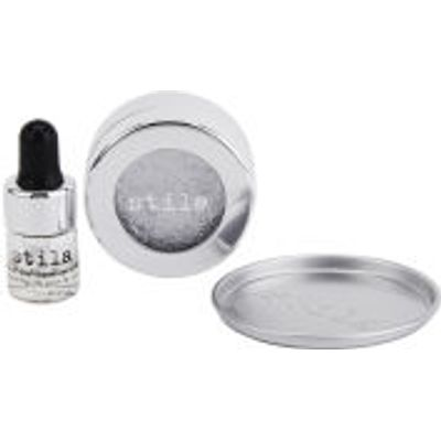 Stila Magnificent Metals Eyeshadow Comex Platinum with Stay All Day Eyeshadow Primer