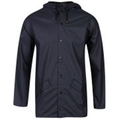 RAINS Jacket - Blue - M-L