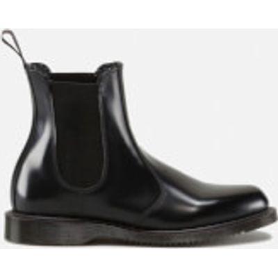 Dr. Martens Women's Kensington Flora Polished Smooth Leather Chelsea Boots - Black - UK 6 - Black