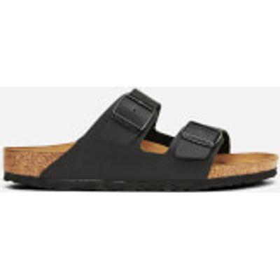 Birkenstock Men's Arizona Double Strap Sandals - Black - UK 10/EU 44 - Black