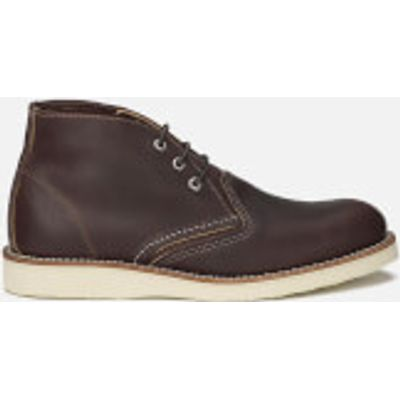 Red Wing Men's Chukka Leather Boots - Briar Oil Slick - UK 11/US 12 - Brown