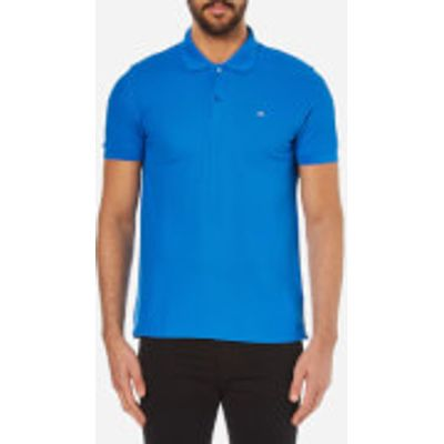 J.Lindeberg Men's Rubi Slim Fit Polo Shirt - Blue - L - Blue