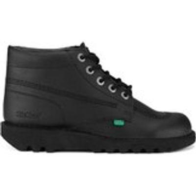 Kickers Men's Kick Hi Leather Boots - Black - UK 7/EU 41 - Black