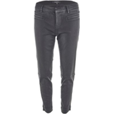 Selected Femme Women's Glossy Cropped Pants - Black - EU 34/UK 6 - Black