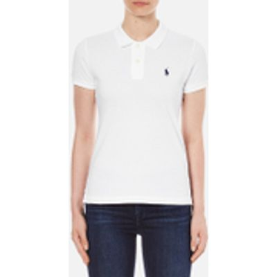 3611584970060 | Polo Ralph Lauren Women s Skinny Fit Polo Shirt   White   L UK 12 Store