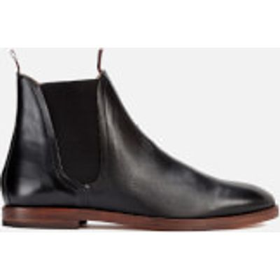 Hudson London Men's Tamper Leather Chelsea Boots - Black - UK 10 - Black