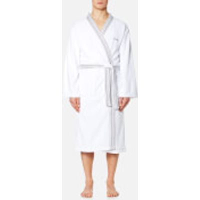Calvin Klein Riviera Bathrobe - White - Large - White