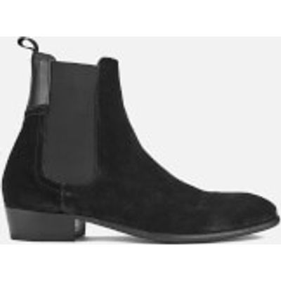 Hudson London Men's Watts Suede Chelsea Boots - Black - UK 11 - Black