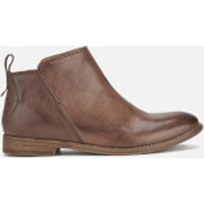 Hudson London Women's Revelin Leather Ankle Boots - Chocolate - UK 4 - Brown