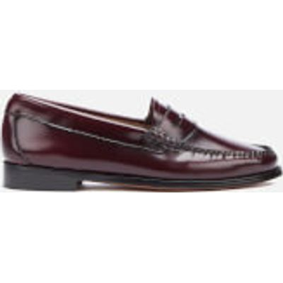 Bass Weejuns Women's Penny Leather Loafers - Wine - UK 3 - Burgundy