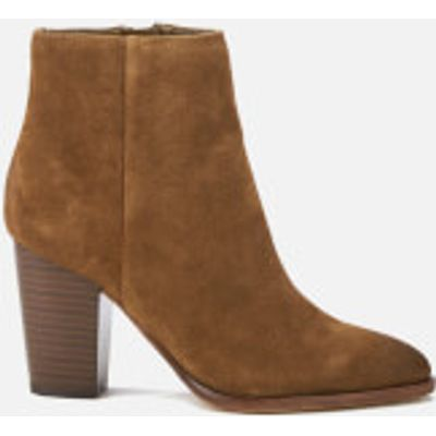 Sam Edelman Women's Blake Suede Heeled Ankle Boots - Woodland Brown - UK 4.5/US 6.5