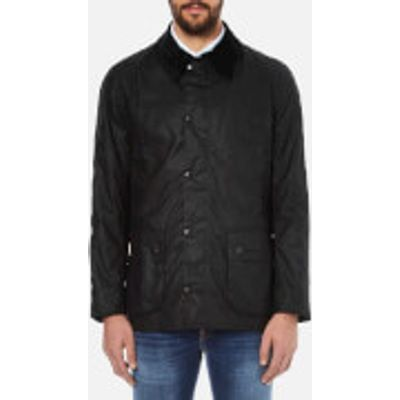 Barbour Heritage Men's Ashby Waxed Jacket - Black - S - Black