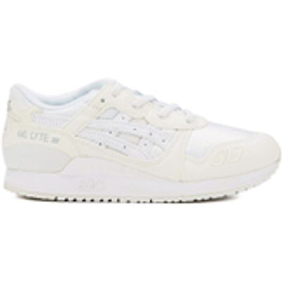 Asics Kids' Gel-Lyte III PS Trainers - White - UK 2 Kids - White