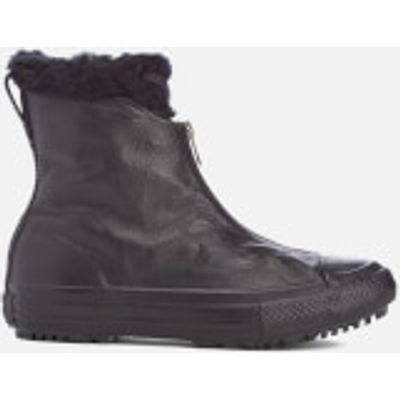 Converse Women's Chuck Taylor All Star Hi Rise Shroud Boots - Black Monochrome - UK 4 - Black