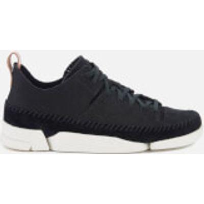 Clarks Originals Women's Trigenic Flex Shoes - Black Nubuck - UK 5 - Black