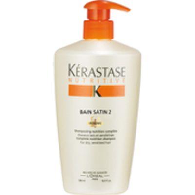 K  rastase Nutritive Bain Satin 2 Shampoo 500ml - 3474636384563