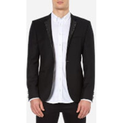 HUGO Men's Adrison Single Breasted Jacket - Black - L/EU 50 - Black