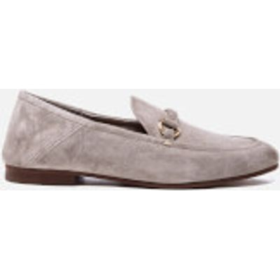 Hudson London Women's Arianna Suede Loafers - Taupe - UK 5 - Grey