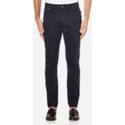 Hackett London Men's Trinity Twill Five Pocket Trousers - Navy - W30/L32 - Navy