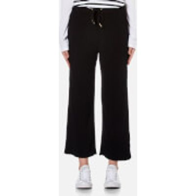 MINKPINK Women's Cropped Drawstring Pants - Black - M - Black