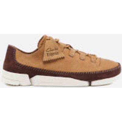 Clarks Originals Men's Trigenic Flex 2 Shoes - Fudge Nubuck - UK 10 - Tan