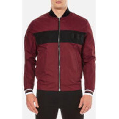 McQ Alexander McQueen Men's Windbreaker Jacket - Port - IT 52/XL - Burgundy
