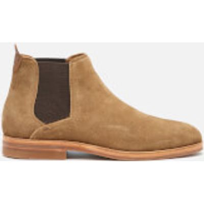 Hudson London Men's Tonti Suede Chelsea Boots - Tobacco - UK 10 - Brown