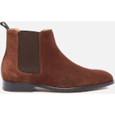 PS by Paul Smith Men's Gerald Suede Chelsea Boots - Snuff - UK 9 - Brown