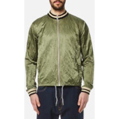Vivienne Westwood Anglomania Men's Bomber Souvenir Jacket - Green Crunchy - L - Green