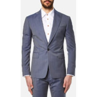 Vivienne Westwood MAN Men's Wool James Suit - Avio - EU 48/M - Blue