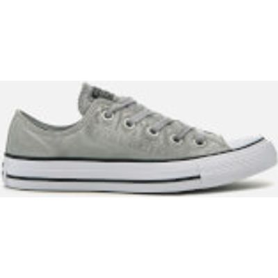 Converse Chuck Taylor All Star Ox Trainers - Dolphin/Black/White - UK 3 - Grey