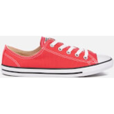 Converse Women's Chuck Taylor All Star Dainty Trainers - Ultra Red/Black/White - UK 3 - Red