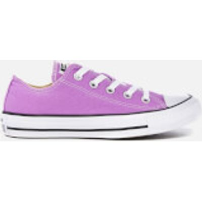 Converse Women's Chuck Taylor All Star Ox Trainers - Fuchsia Glow - UK 4 - Purple