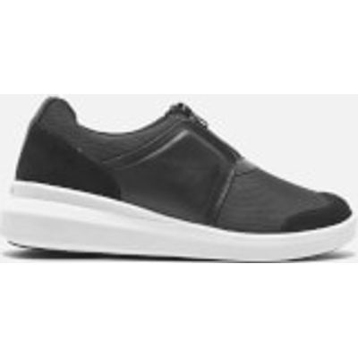 DKNY Women's Taylor Zip On Trainers - Black - US 9.5/UK 7 - Black