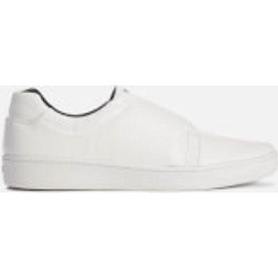 DKNY Women's Bobby Classic Court Slip On Trainers - White - US 9.5/UK 7 - White
