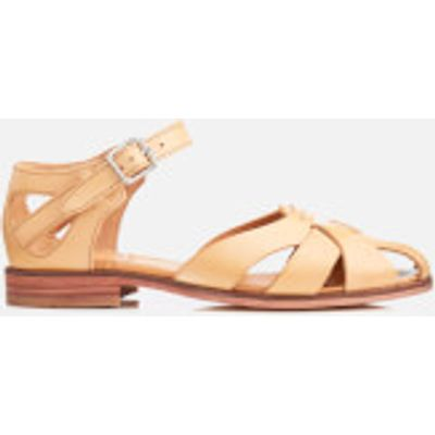 Hudson London Women's Tilda Leather Sandals - Nude - UK 3 - Nude