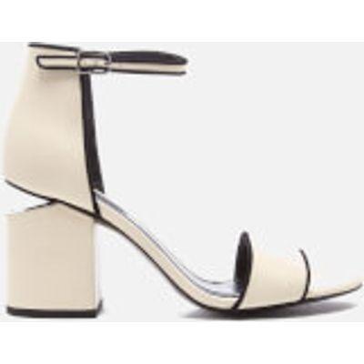 Alexander Wang Women's Abby Block Heeled Two Part Sandals - Bone - EU 38/UK 5 - White
