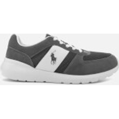 3614711998067 | Polo Ralph Lauren Men s Cordell Sportsuede Gridmesh Trainers   Charcoal Grey   UK 8 Store