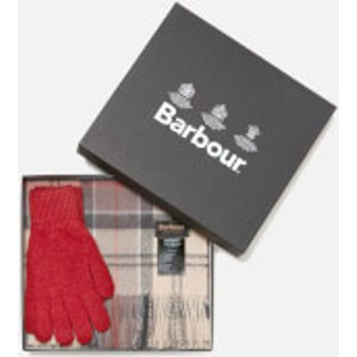 Barbour Women's Scarf and Gloves Set - A Neutral