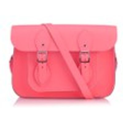 The Cambridge Satchel Company Women's 11  Magnetic Satchel - Neon Coral