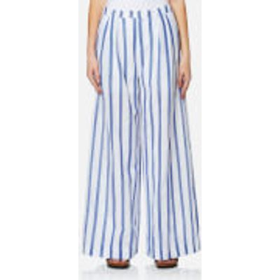 Paisie Women's Stripe Palazzo Trousers - Multi - S - Multi