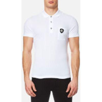 Versus Versace Men's Medusa Logo Polo Shirt - Optical White - M - White