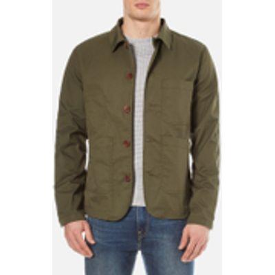 Selected Homme Men's Worker Jacket - Grape Leaf - L - Green