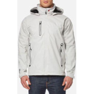 MUSTO Men's Sardinia Mesh Lined Jacket - Platinum - S - Grey
